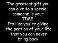 The Greatest Gift you can give...