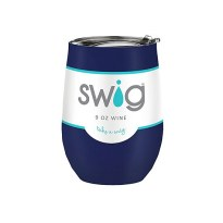 large-Swig Wine Tumbler Navy