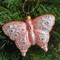 large-Pink-butterfly-ornament-christmas-wrapsody